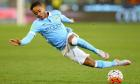 Sport picture of the day: Raheem Sterling turns sky blue
