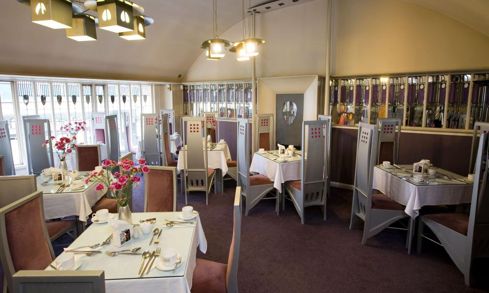 The Charles Rennie Mackintosh-designed Willow Tearooms in Glasgow