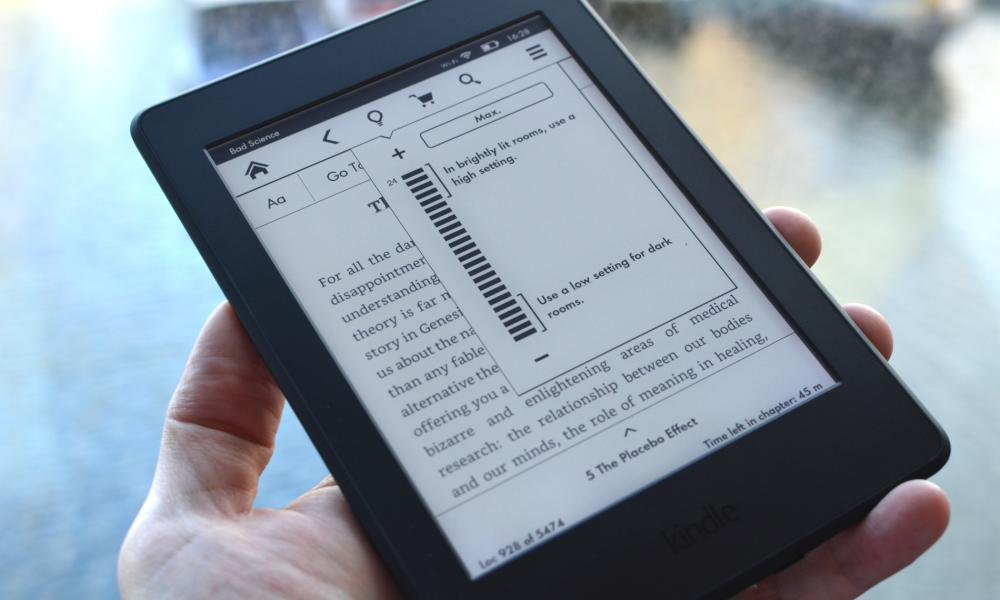 Amazon Kindle Paperwhite ukubuyekeza