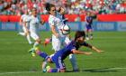 Women's World Cup: Japan beat England – in pictures