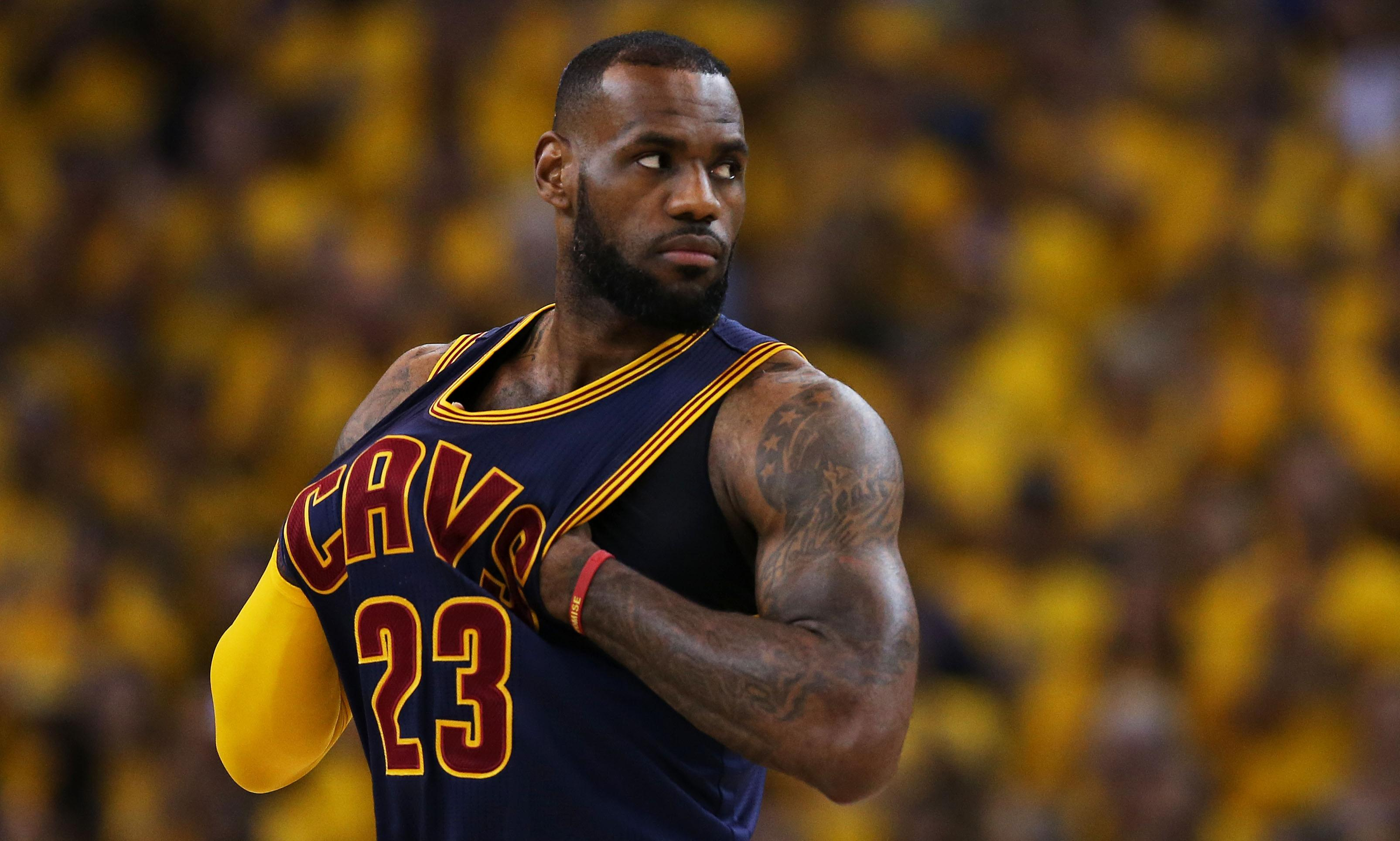 LeBron James confident of NBA finals comeback: 'I'm the best in the world' | Sport | The Guardian