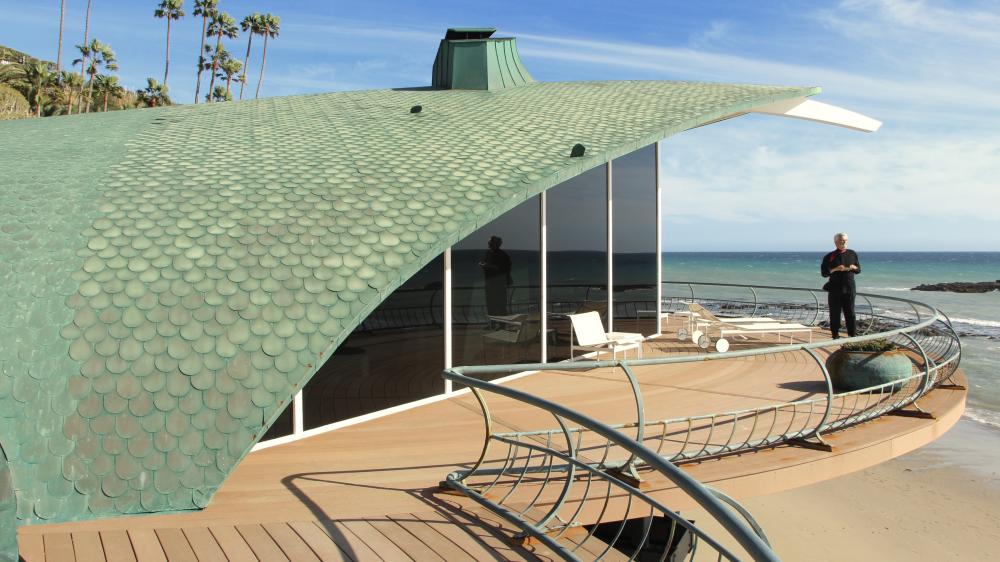 Harry Gesner's Wave House, said to be the inspiration for Sydney Opera House.