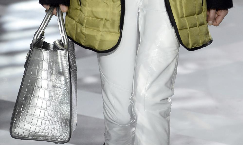 One of the bags at the Louis Vuitton show