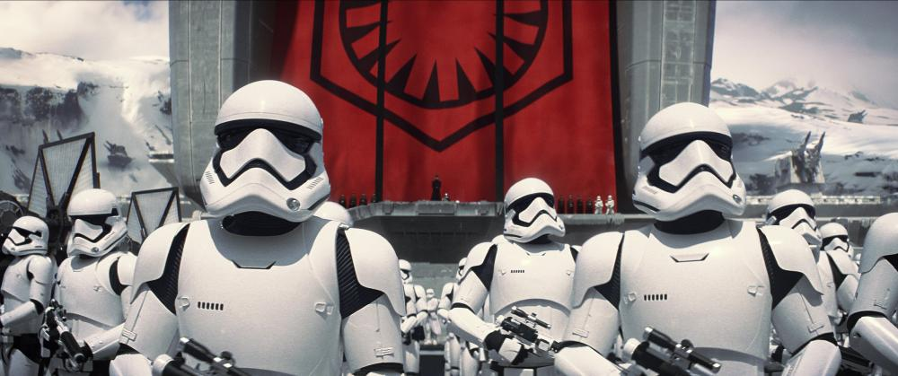 Storm Troopers in Episode VII