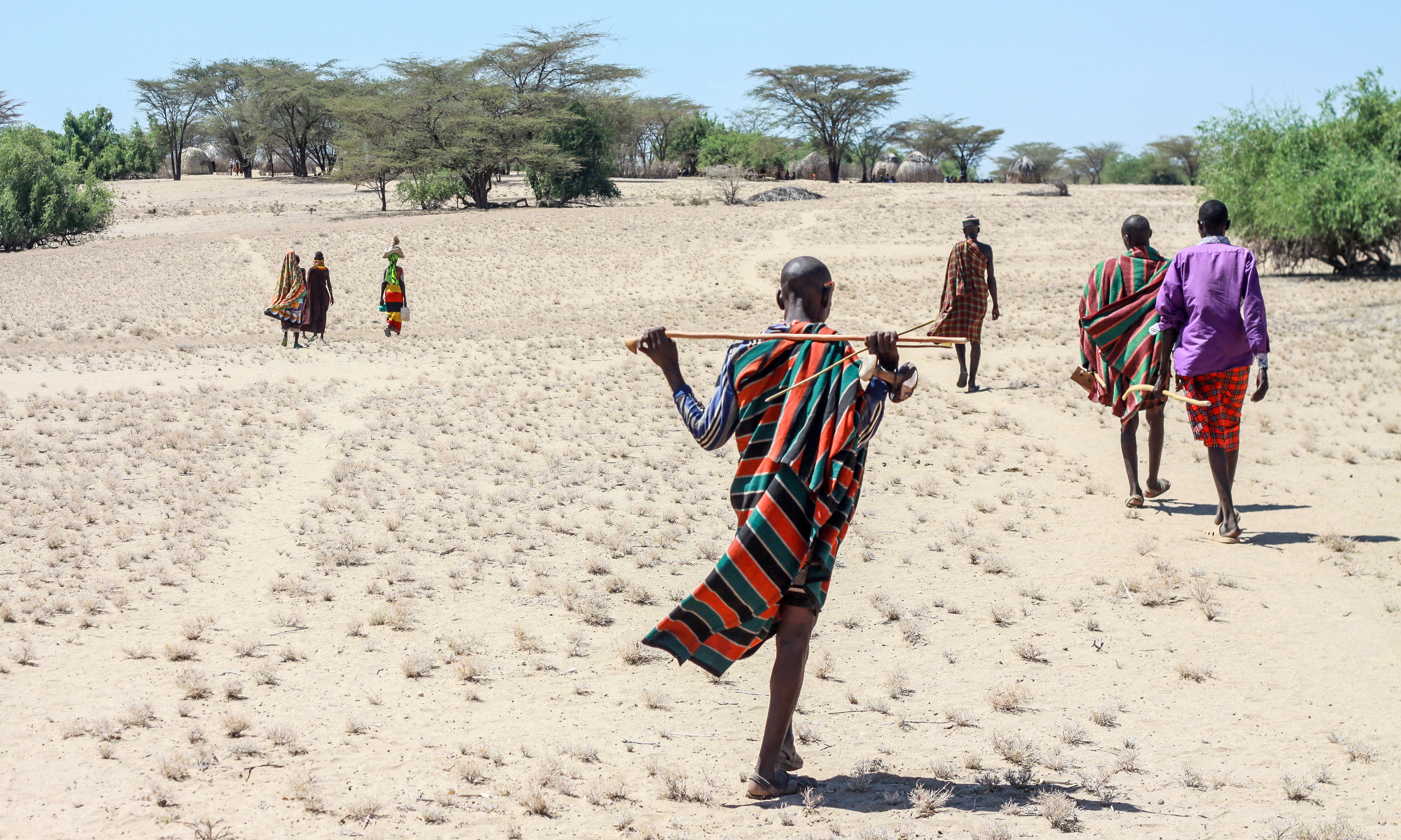 the importance of environment of the turkana people The turkana are noted for raising camels and weaving baskets in their oral traditions they designate themselves the people of the grey bull, after the zebu, the domestication of which played an important role in their history.
