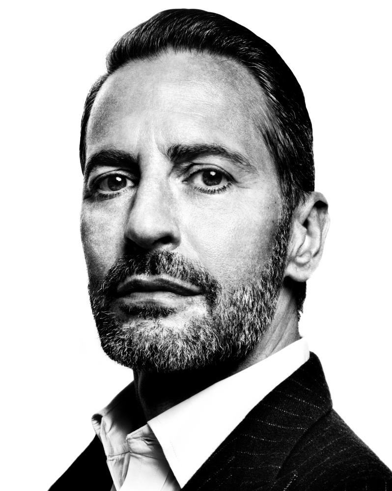 Portrait of fashion designer Marc Jacobs