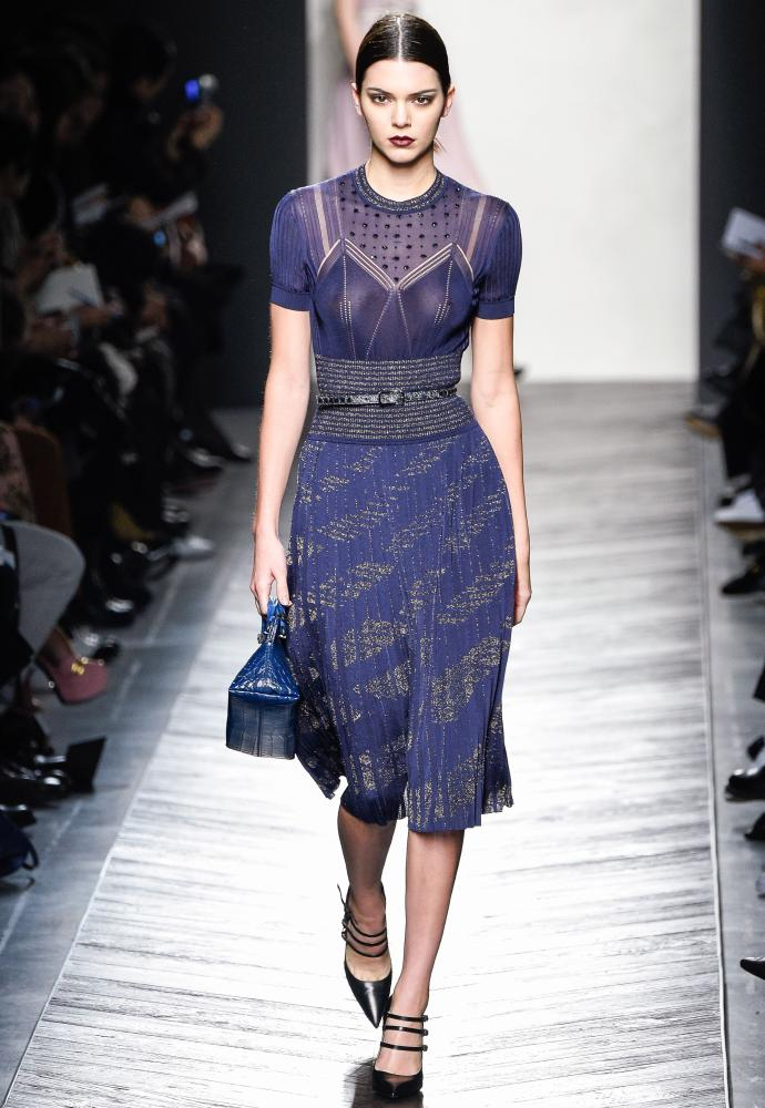 Bottega Veneta show, Milan fashion week.