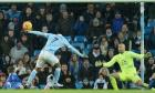 Manchester City frustrated by Everton and Sterling's late penalty claim