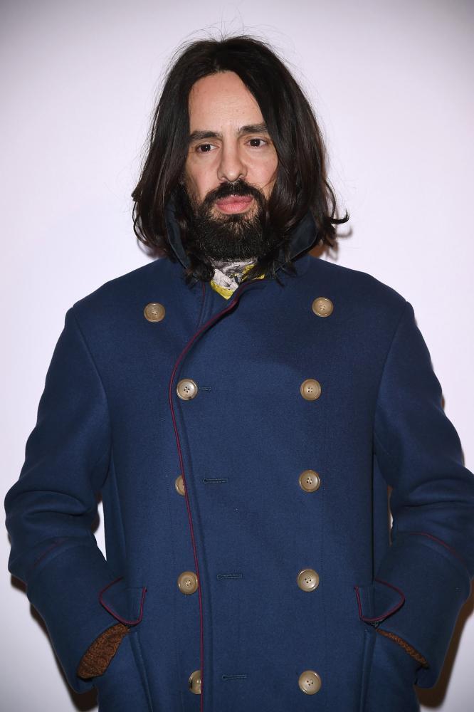 Gucci's creative directo Alessandro Michele.
