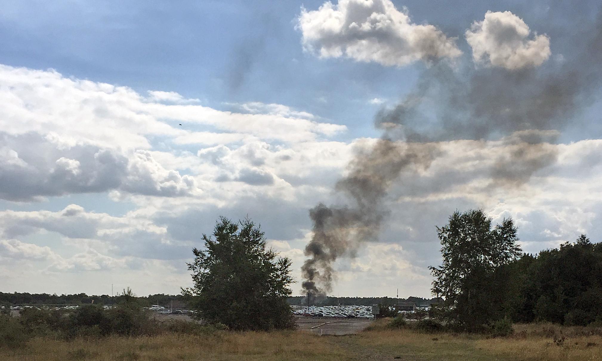 Bin Laden plane crash: jet went down in near perfect conditions