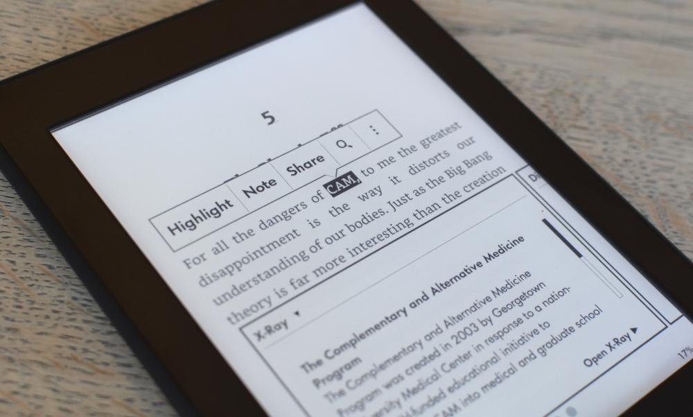 Amazon Kindle Paperwhite baxış