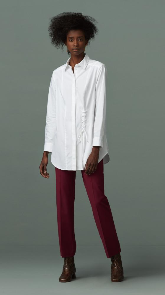 Grainger white shirt from Finery London.