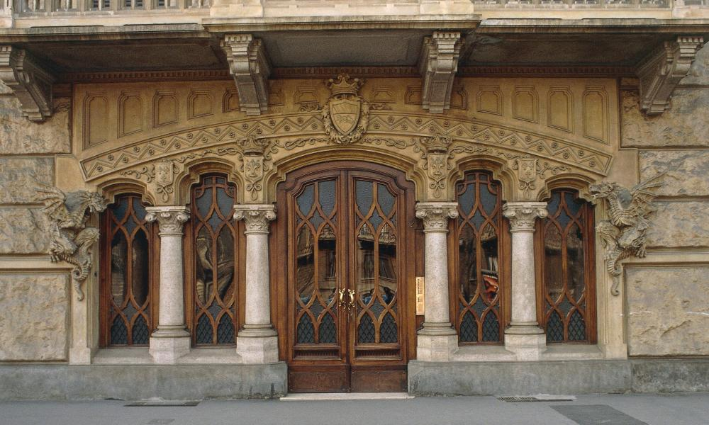 Pietro Fenoglio's Casa Fenoglio-Lafleur, Turin, Italy