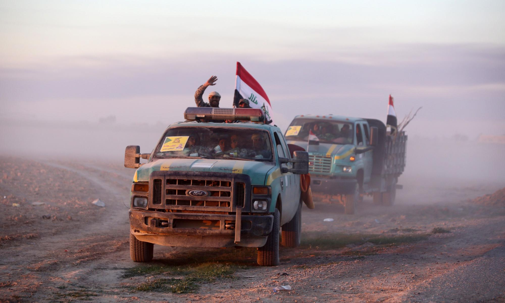 US claims its air strikes enabled Iraqi push poised to retake Tikrit from Isis