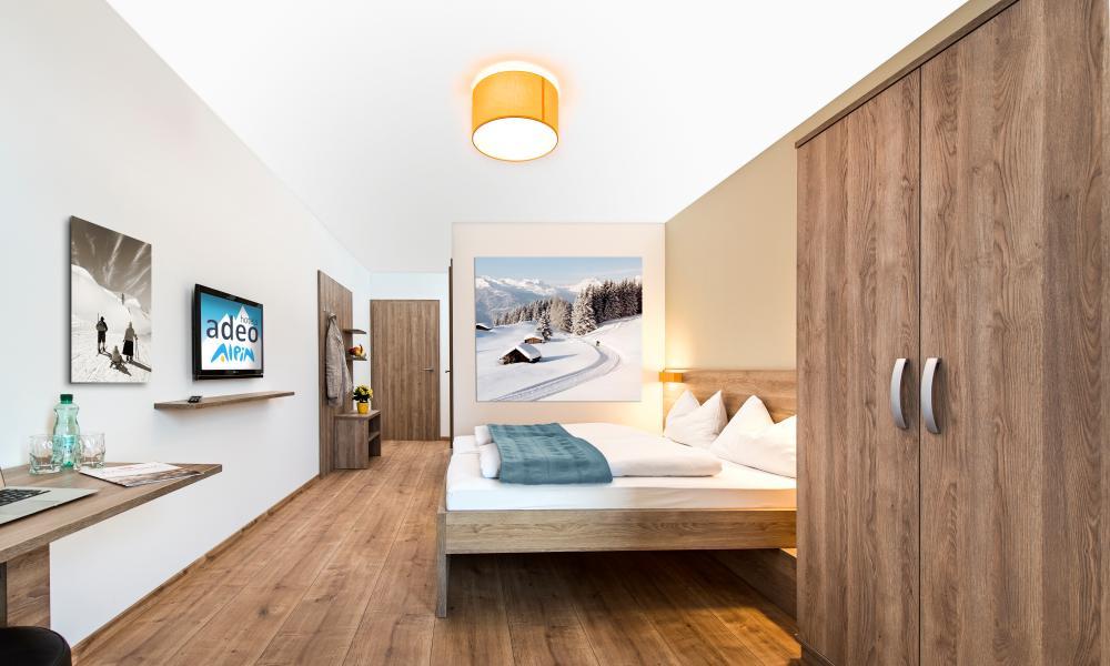 Bedroom at Adeo Alpin, St Johann, Austria.