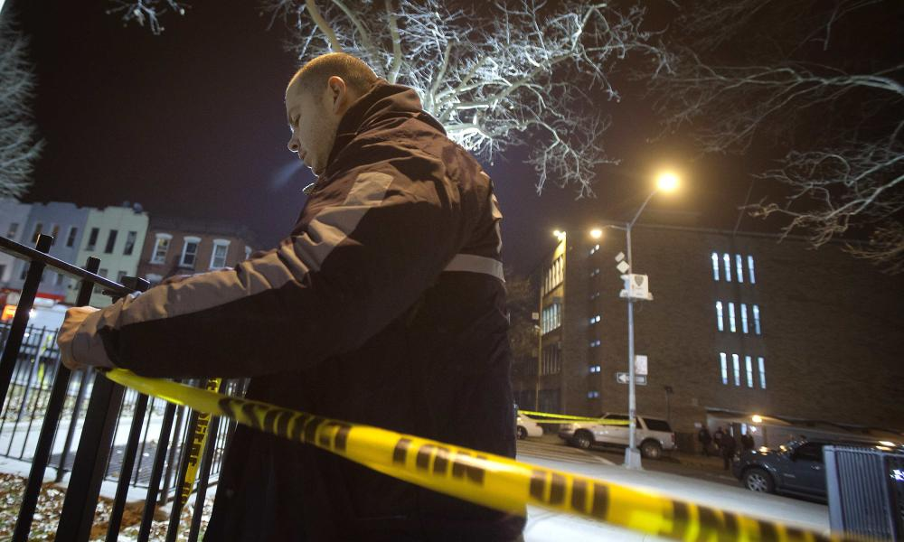 Two NYPD officers shot dead in Brooklyn before gunman shoots himself...