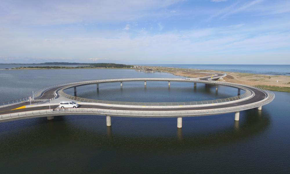 Bridge in Punta del Este, Uruguay.