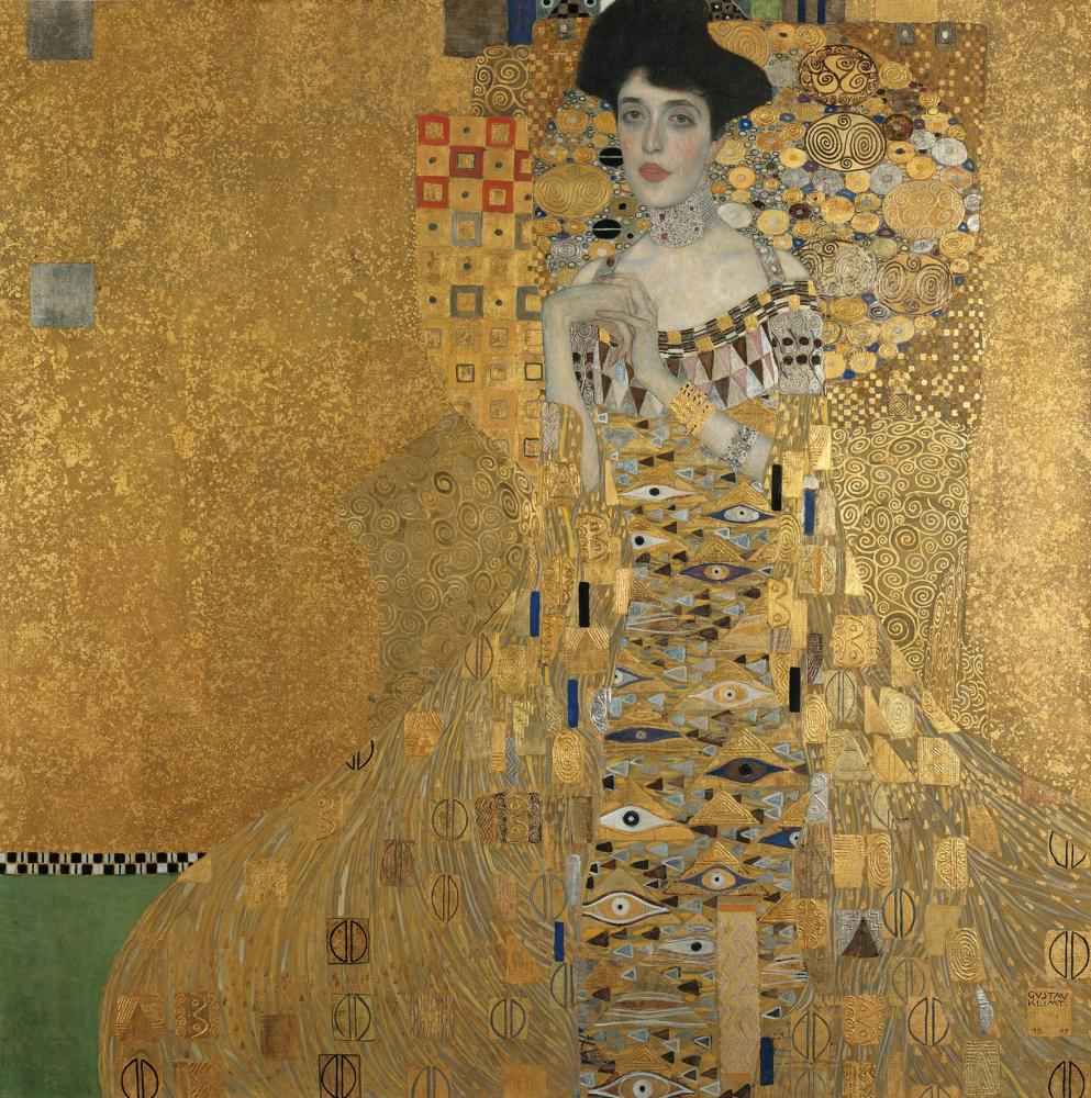Klimt's Portrait of Adele Bloch-Bauer I.