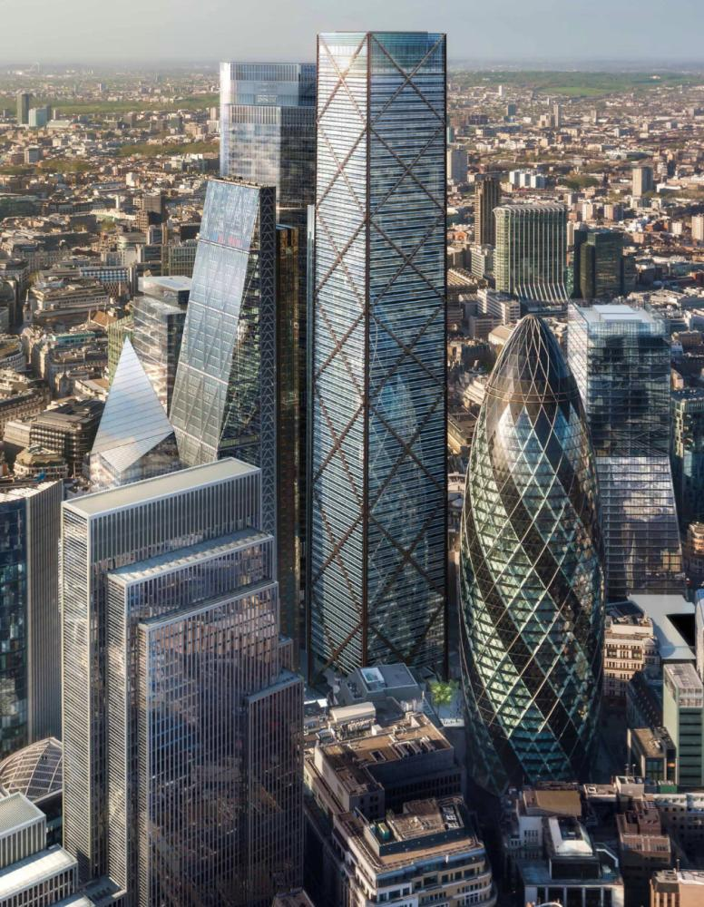 'At the higher level of buildings, this is really the endgame,' says Eric Parry. 'I don't think there's more coming on this scale.'