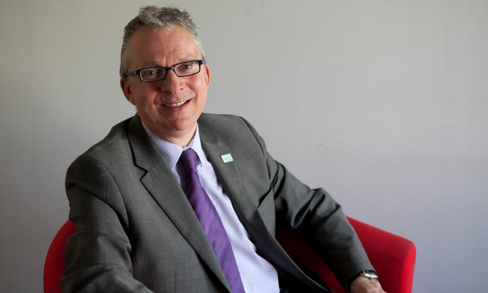 Jeremy Hughes, chief executive of the Alzheimer's Society.