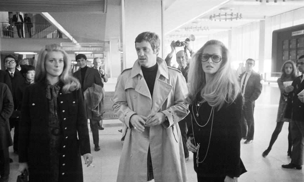 Catherine Deneuve, Jean-Paul Belmondo and Ursula Andress in 1968.
