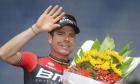 Cadel Evans signs off with fifth place in his own Great Ocean Road race
