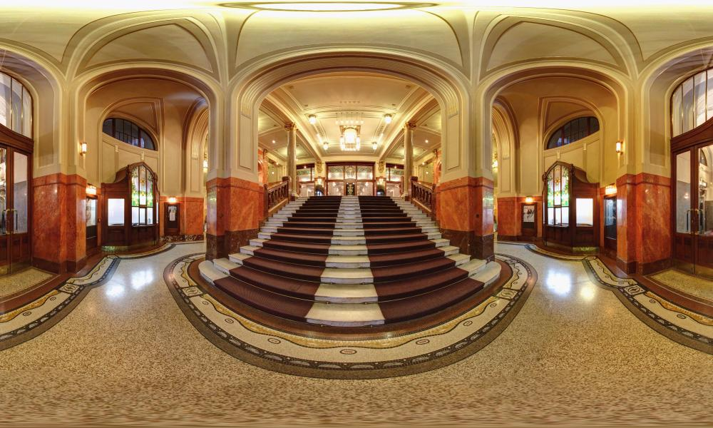 Entrance foyer of the Municipal House, Prague