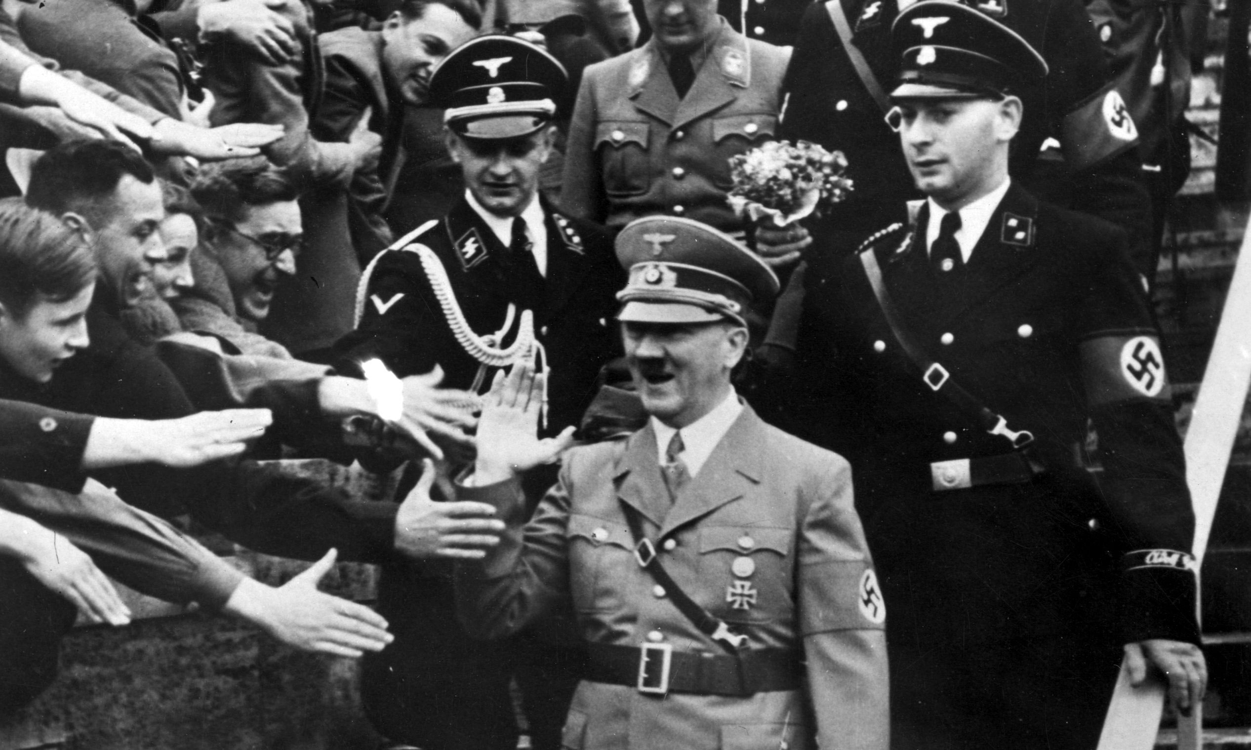 what inspired hitler and the nazi's The three main schools of thought are that the nazis adhered to  of the most  complete speeches we have of hitler's from 1920, he made direct.