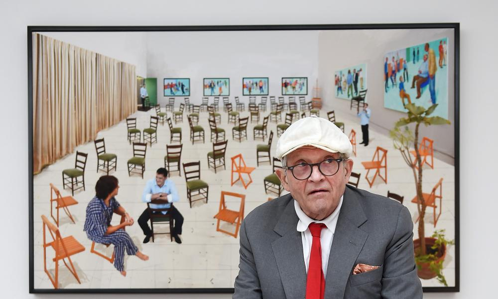 """LA has always inspired me,"" David Hockney said. ""The light here is marvellous – much better than England."""