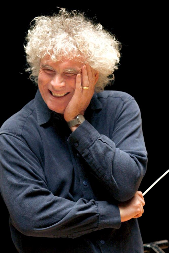 Simon Rattle.