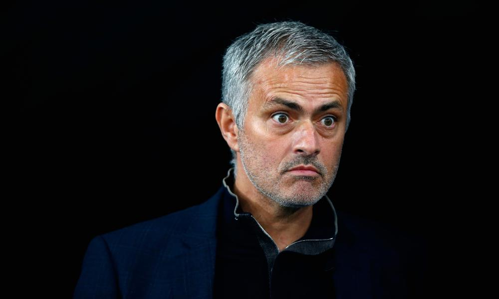 José Mourinho in Kiev, Ukraine, in October.