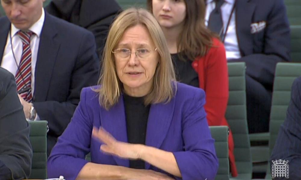HM Revenue and Customs chief executive Lin Homer