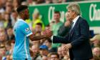 Manuel Pellegrini keeps calm with Raheem Sterling set to face music