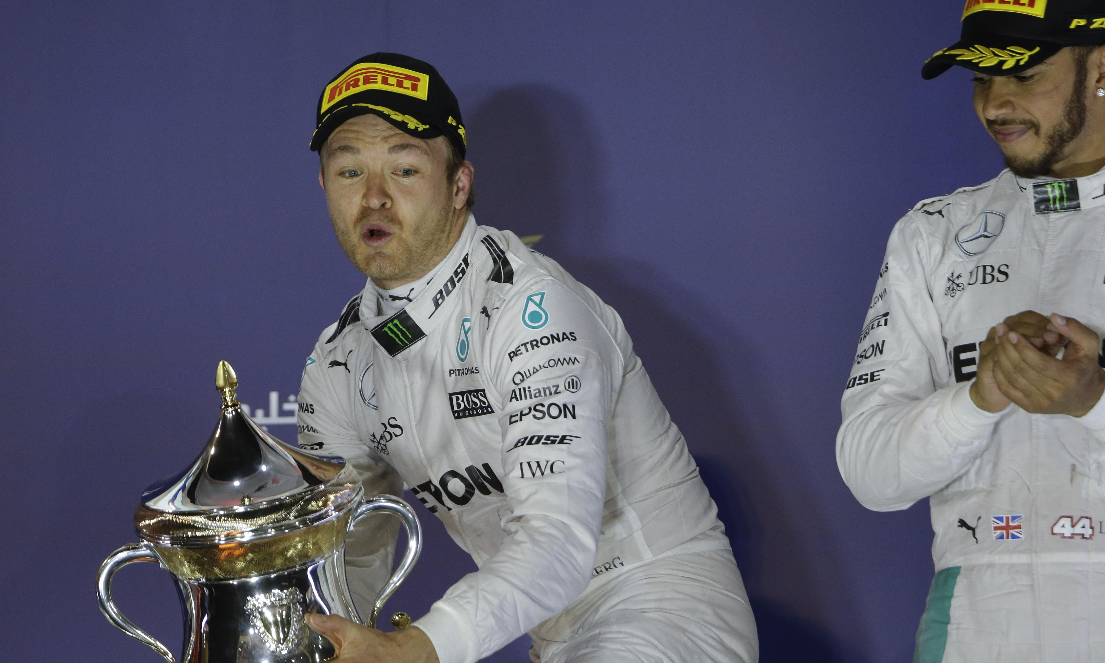 Lewis Hamilton compares F1 battle against Nico Rosberg to Ali's rope-a-dope