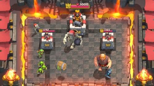 Clash Royale for iOS.