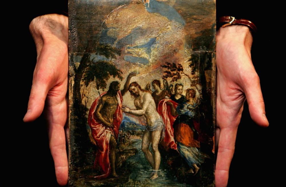 El Greco's The Baptism of Christ.