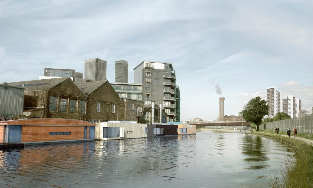 proposal for the River Lea in east London.