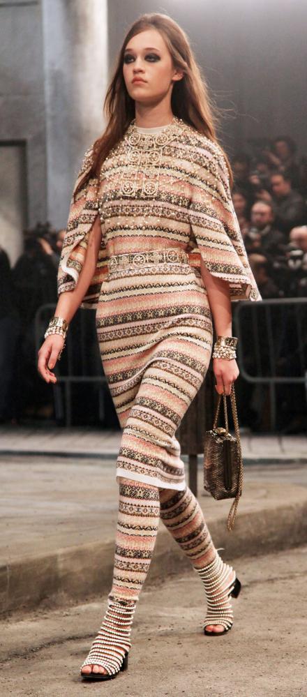 Chanel's Metiers d'Art show.