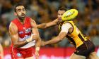 Swans star Adam Goodes disappointed by boos from Melbourne AFL crowds