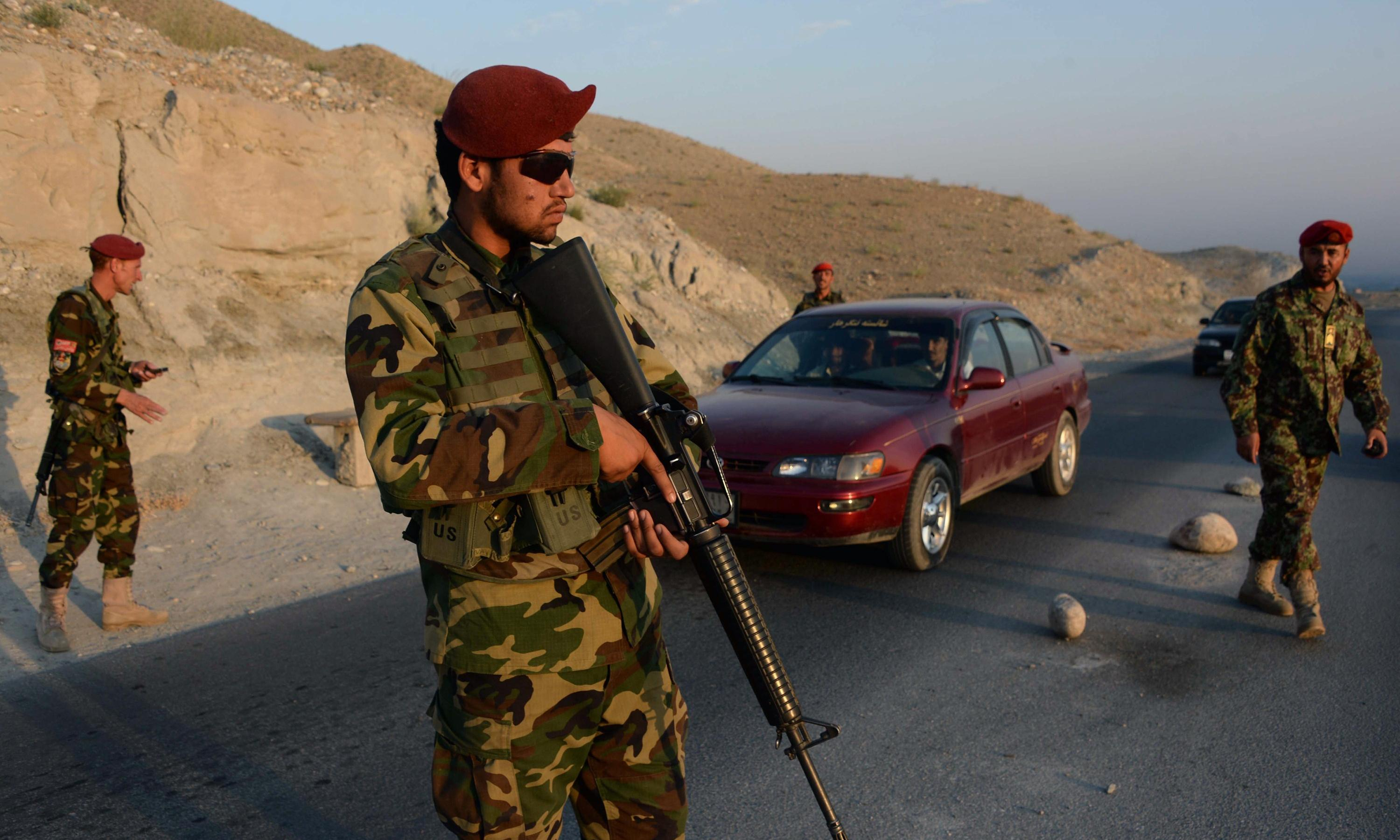 Afghan troops killed by Nato air strike, says official