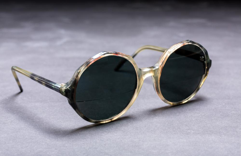 Princess Margaret's sunglasses.