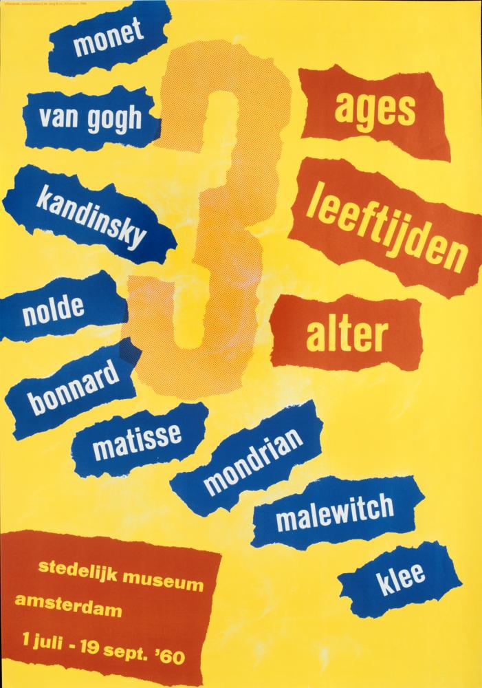 3 Ages, 1960 by Willem Sandberg.