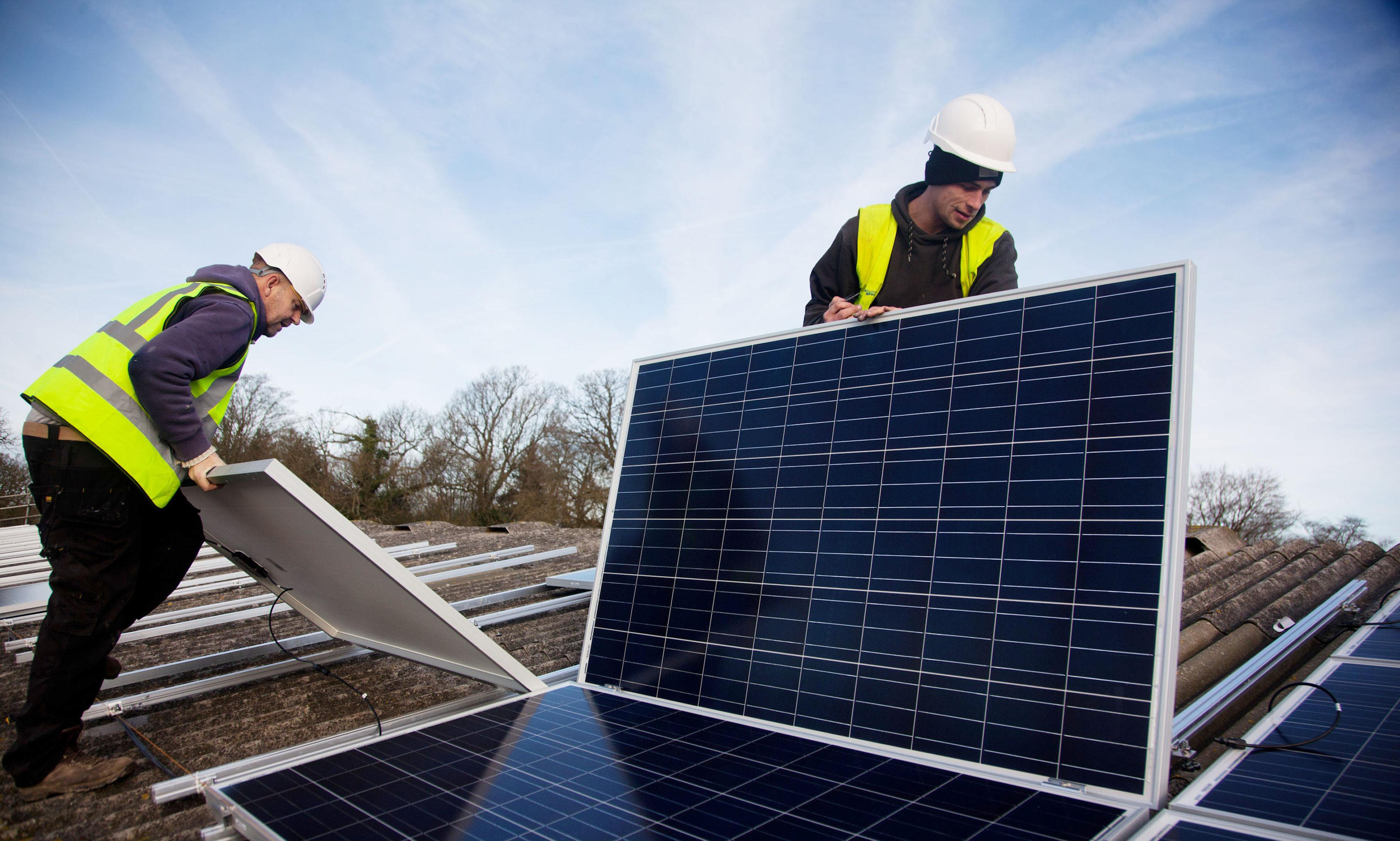 Solar power in crisis: 'My panels generate enough power for two loads of washing'