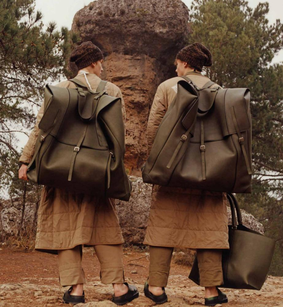Super-sized style from Loewe.