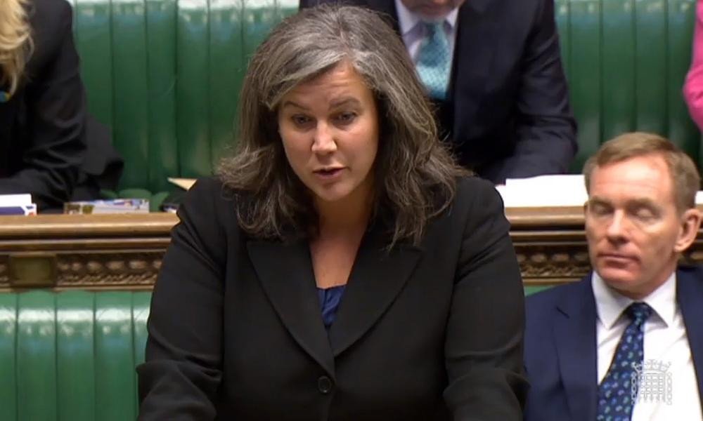 Shadow health secretary Heidi Alexander responds after Jeremy Hunt delivered a statement to the House of Commons