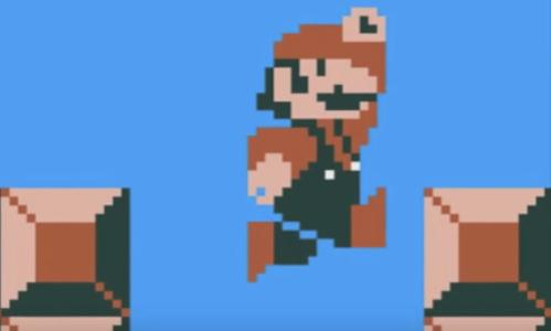 Mario jatuh