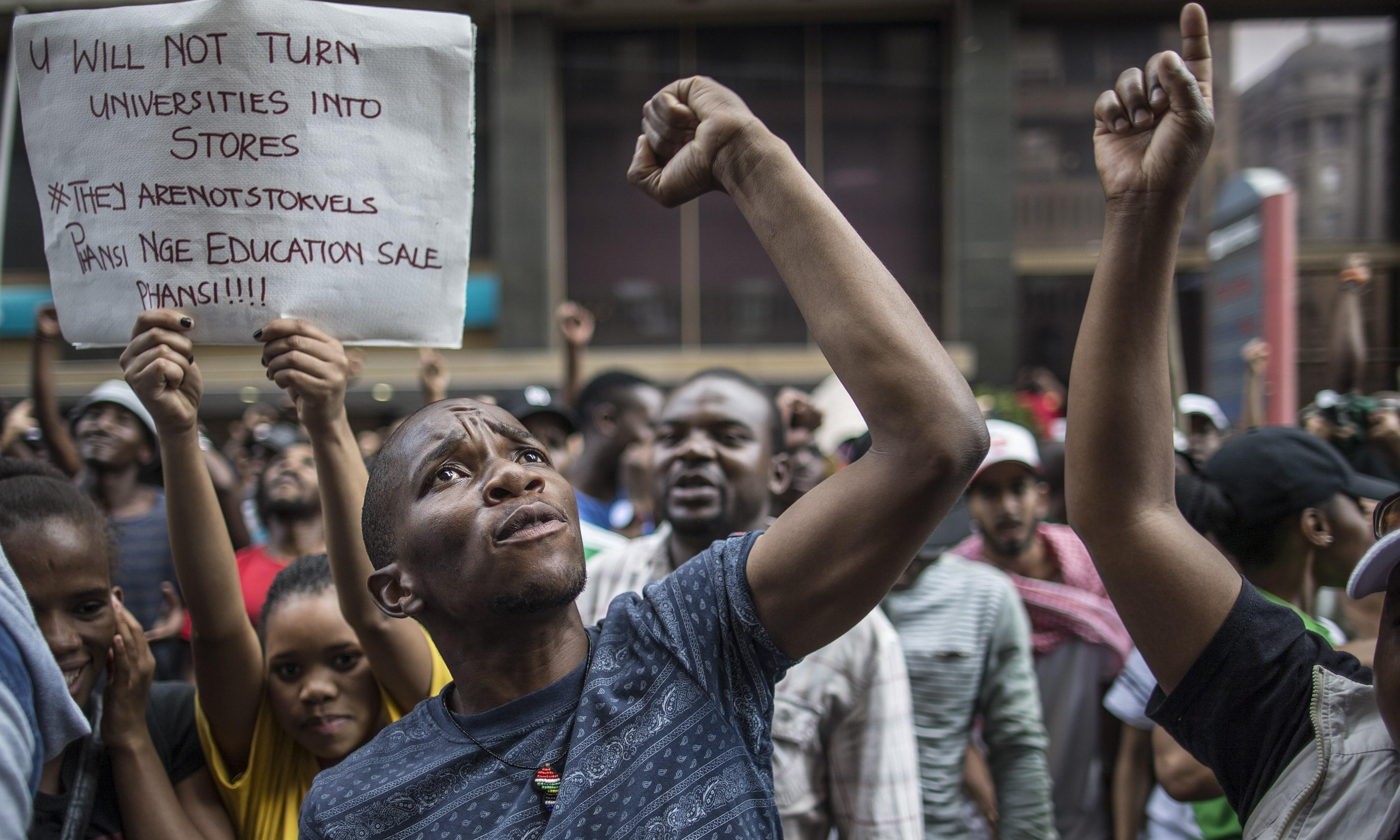 South Africa's student protests have lessons for all universities