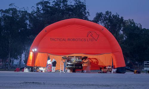 Tactical Robotics AirMule test flight facility