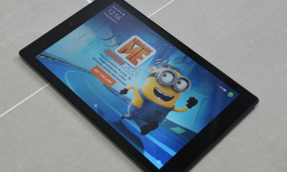 Amazon Fire HD 10 ukubuyekeza tablet
