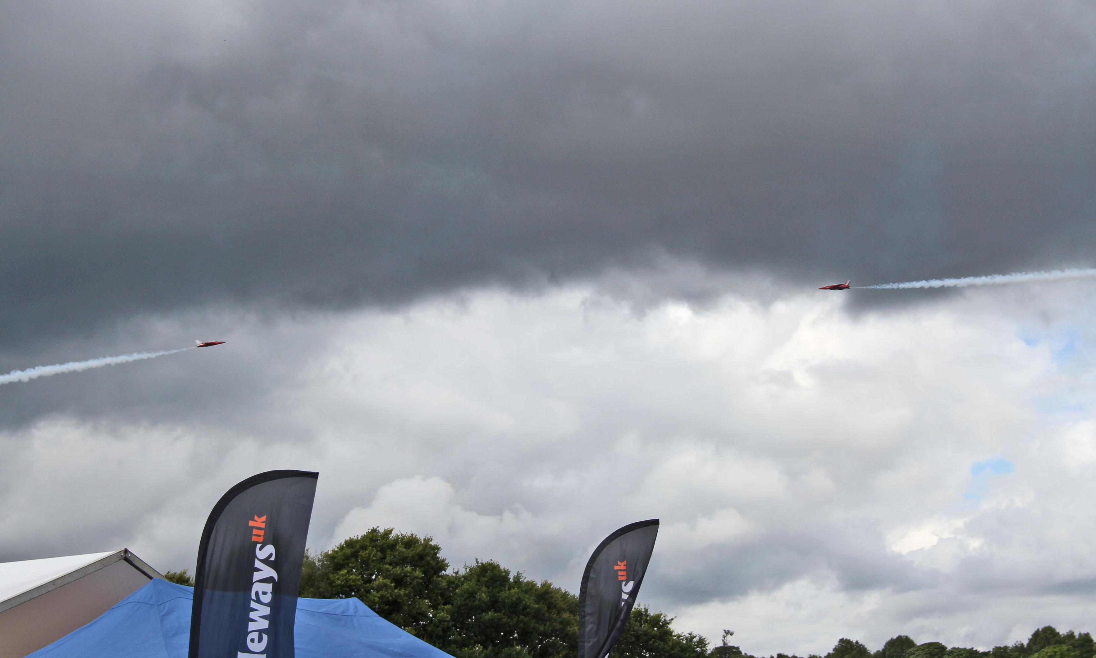 Pilot killed in plane crash at Chris Evans' car festival
